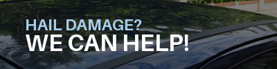 Hail Damage Banner | European Auto Imports